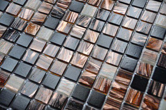Glasmosaik Cacao