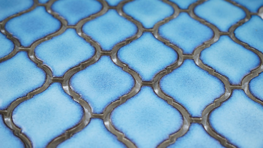 Mosaik Blue Lantern