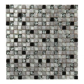 Kristallmosaik Inka Silver