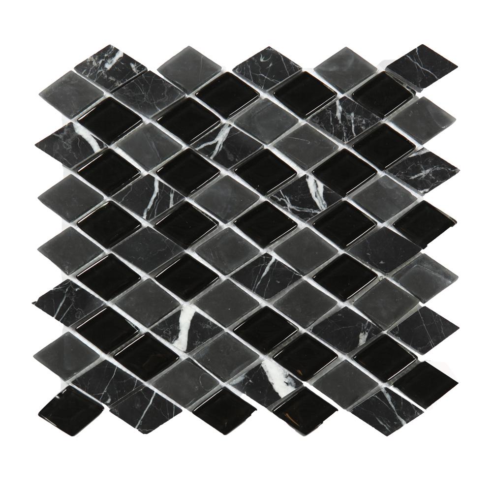 Kristallmosaik Black And Grey Mix