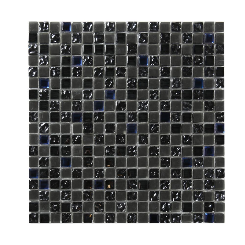Kristallmosaik Grey and Blue Mix