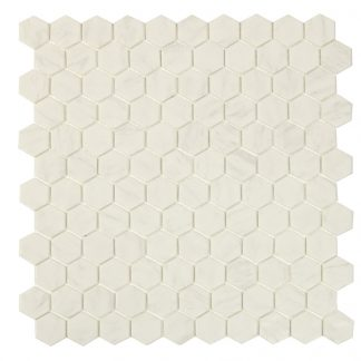 Mosaik Carrara Hexagon 30,1X29