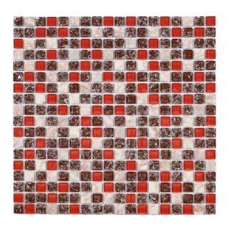 Kristallmosaik Red Mix