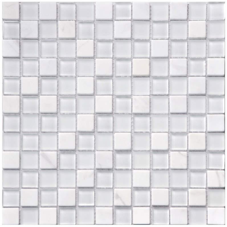 Kristallmosaik Snow Stone