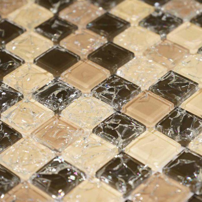 Kristallmosaik Vivida Bronze