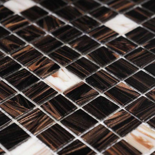 Mosaik Brun White Touch