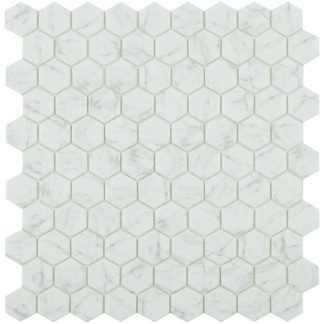 CARRARA GREY MT HEX