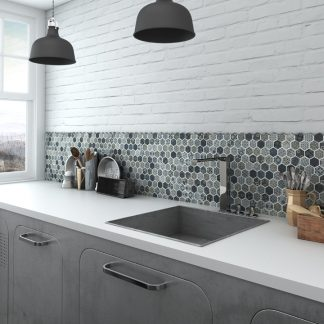 DECOR TERRE BLUE HEX